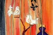 La gabbia dorata-olio su tela- 2002